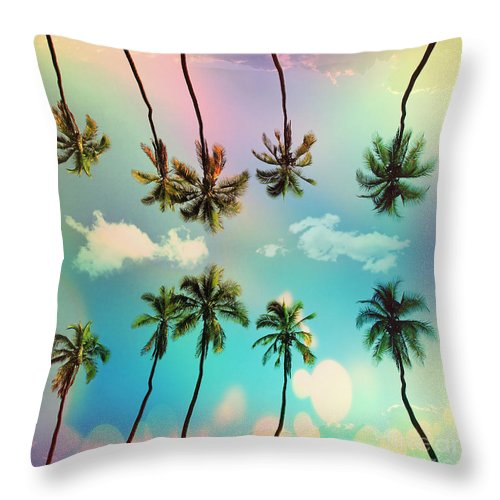 Venice Beach Throw Pillow featuring the photograph Florida by Mark Ashkenazi