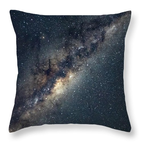 Catherine Hill Bay Throw Pillow featuring the photograph Milky Way by Merrillie Redden