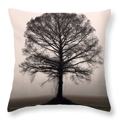 Trees Throw Pillow featuring the photograph The Tree by Amanda Barcon