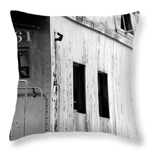 Train Throw Pillow featuring the photograph Train by Sebastian Musial
