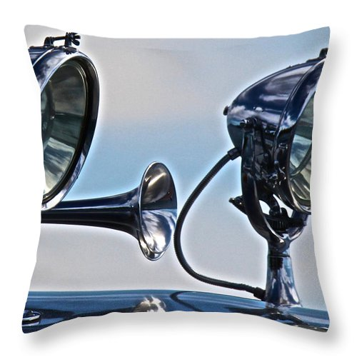 Runabout Throw Pillow featuring the photograph Thunderbird by Steven Lapkin