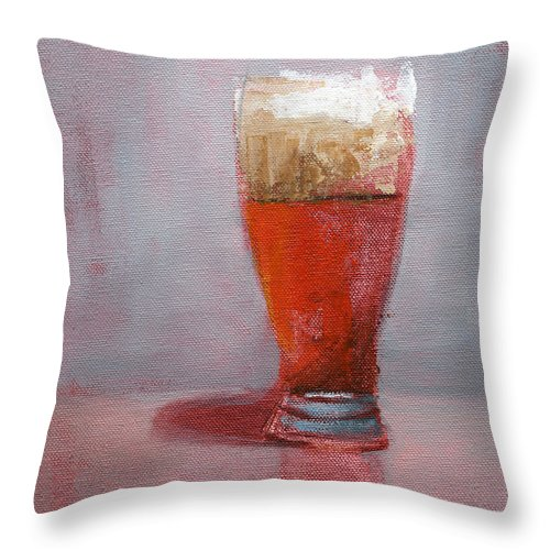 Thirst Throw Pillow featuring the painting Rcnpaintings.com by Chris N Rohrbach