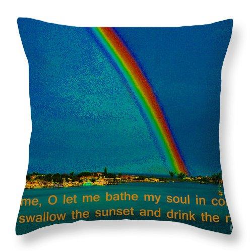 Khalil Gibran Throw Pillow featuring the photograph 227- Khalil Gibran by Joseph Keane