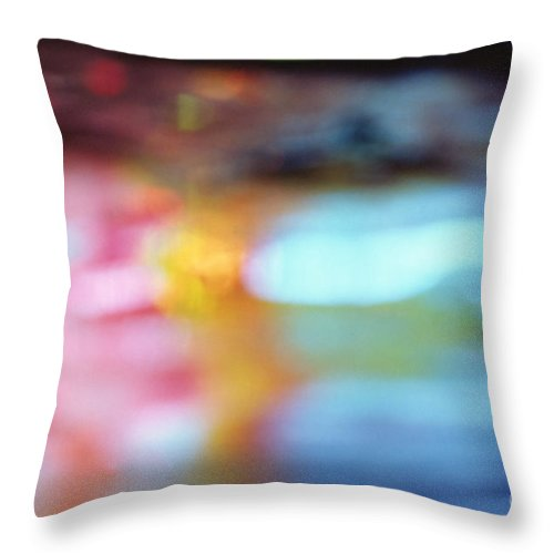 Abstract Throw Pillow featuring the photograph Abstract by Tony Cordoza