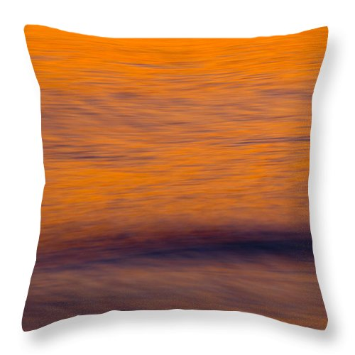 Sunset Throw Pillow featuring the photograph Sunset by Silke Magino