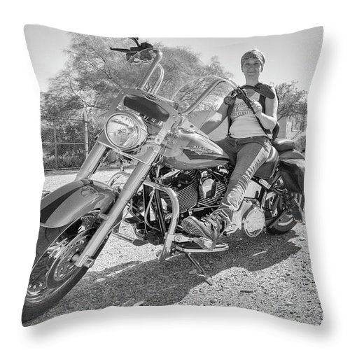 Marit Runyon Throw Pillow featuring the photograph Hayden by Marit Runyon
