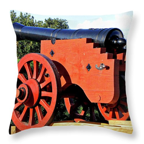 Zealand Denmark Throw Pillow featuring the photograph Zealand Denmark by Paul James Bannerman