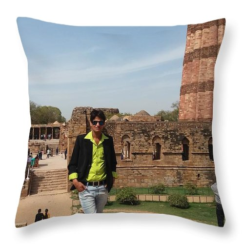 Harpal Singh Jadon Throw Pillow featuring the photograph Harpal Singh Jadon by Harpal SIngh Jadon Jadon
