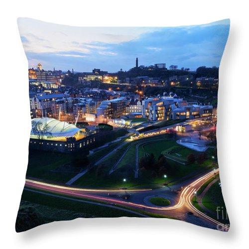 Europe Throw Pillow featuring the photograph Edinburgh, Scotland by Karol Kozlowski