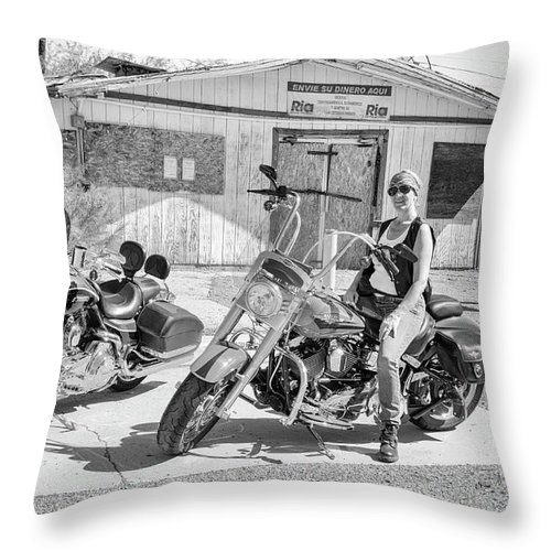 Marit Runyon Throw Pillow featuring the photograph Hayden by Marit Runyon