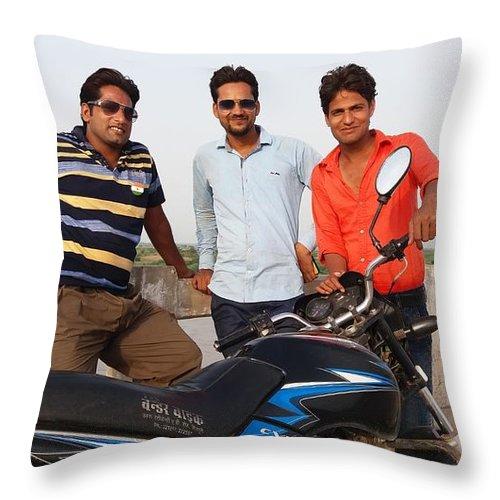 Harpal Singh Jadon Throw Pillow featuring the photograph Harpal Singh Jadon by Harpal Singh Jadon Jadon