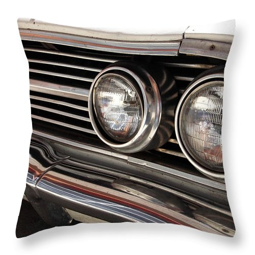 Cars Throw Pillow featuring the photograph Biscayne by Amanda Barcon