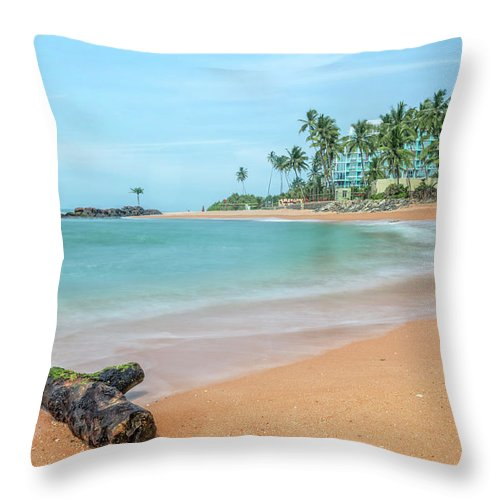 Galle Throw Pillow featuring the photograph Galle - Sri Lanka by Joana Kruse