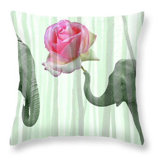 Love Throw Pillow featuring the photograph Love by Manfred Lutzius