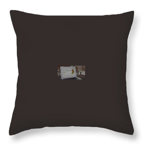 Throw Pillow featuring the photograph Camping Bedding by Gear Head Junkie