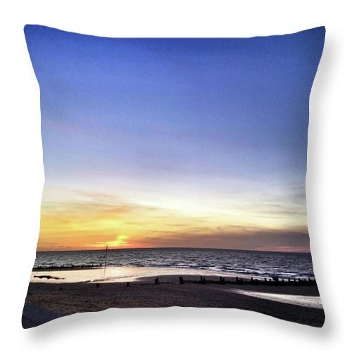 Throw Pillow featuring the photograph Instagram Photo by John Edwards