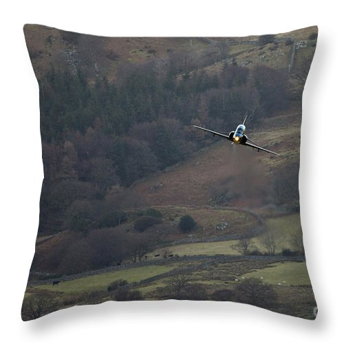 Great Britain Throw Pillow featuring the photograph Snowdonia by Angel Ciesniarska