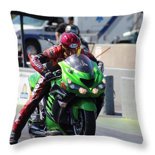 Manufacturers Throw Pillow featuring the photograph Man Cup 08 2016 By Jt by Jack Norton