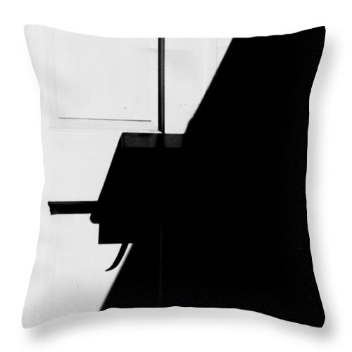 Number Throw Pillow featuring the photograph 7 by Steven Huszar