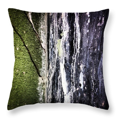 Beautiful Throw Pillow featuring the photograph #abstract #art #abstractart by J Love