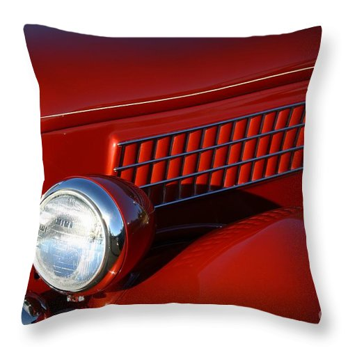 Automobile Throw Pillow featuring the photograph A Favorite Classic by Mary Chris Hines