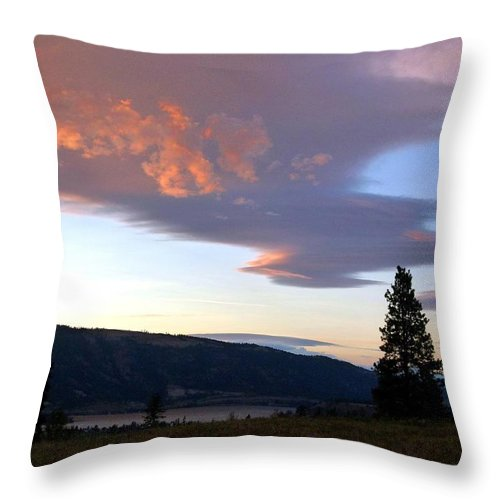 Magnificent Moment Throw Pillow featuring the photograph A Magnificent Moment 1 by Will Borden