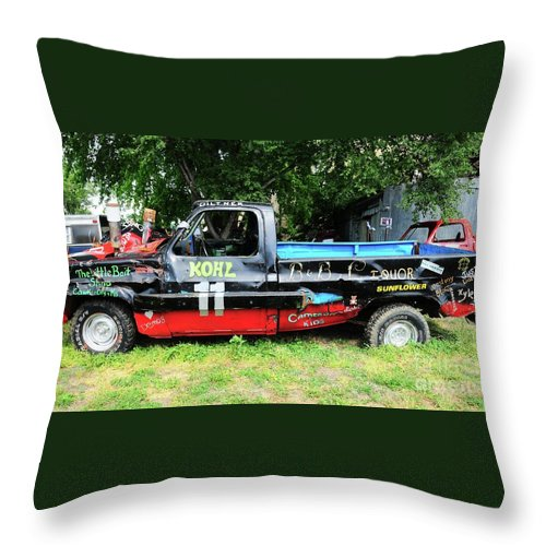 Old Throw Pillow featuring the photograph A Real Gem by Kathleen Struckle