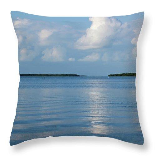 Islamorada Throw Pillow featuring the photograph A Special Place In Islamorada Florida Keys by Michelle Wiarda-Constantine