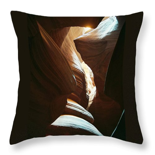 Arizona Throw Pillow featuring the photograph A Spritual Light by Cathy Franklin