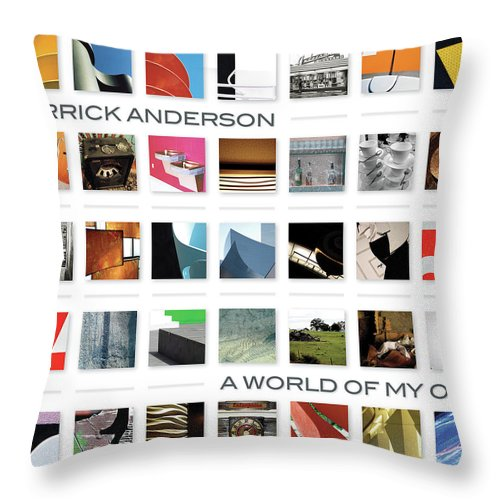 Throw Pillow featuring the photograph A World Of My Own by Derrick Anderson