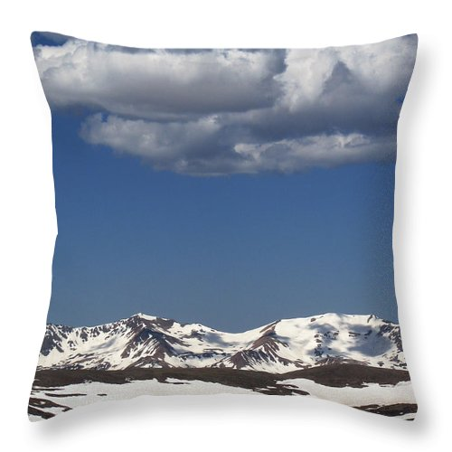 Colorado Throw Pillow featuring the photograph Above It All by Amanda Barcon