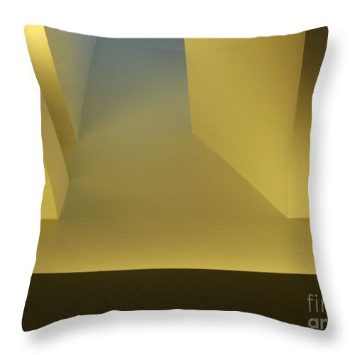 Yellow Throw Pillow featuring the photograph Above Series 4.0 by Dana DiPasquale