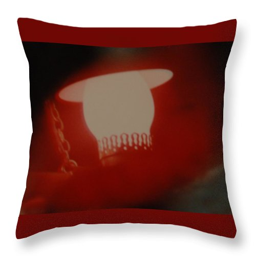 Lantern Throw Pillow featuring the photograph Abstarct Sea Lantern by Rob Hans