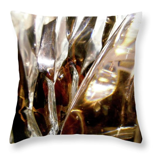 Abstract Shapes Throw Pillow featuring the photograph Abstract 1018 by Stephanie Moore