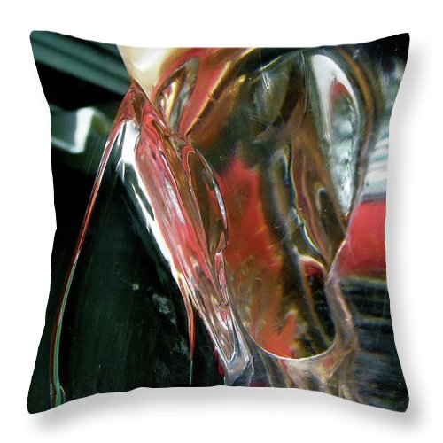 Abstract Throw Pillow featuring the photograph Abstract 1124 by Stephanie Moore