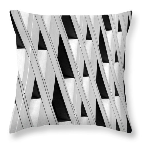 Abstract Photography Throw Pillow featuring the photograph Abstract 2211 by Guntis Lauzums
