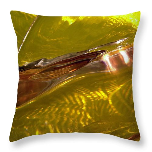 Abstract Shapes Throw Pillow featuring the photograph Abstract 270 by Stephanie Moore
