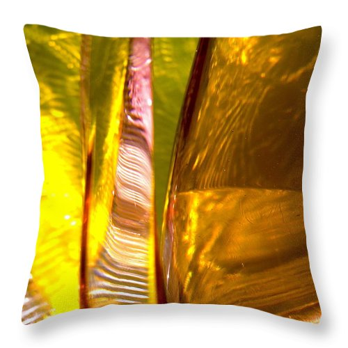 Abstract Shapes Throw Pillow featuring the photograph Abstract 280 by Stephanie Moore