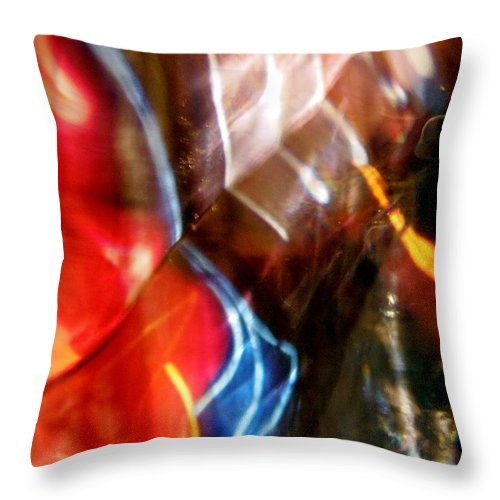 Abstract Throw Pillow featuring the photograph Abstract 281 by Stephanie Moore