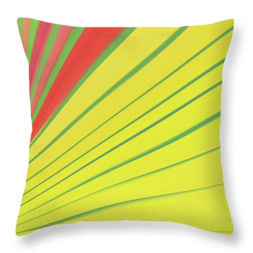 Background Throw Pillow featuring the digital art Abstract 4 by Art Spectrum