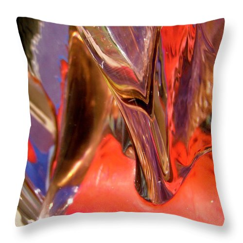 Abstract Throw Pillow featuring the photograph Abstract 415 by Stephanie Moore