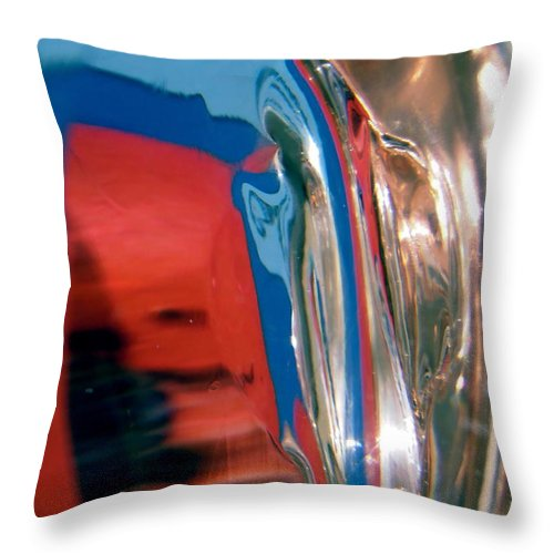Abstract Throw Pillow featuring the photograph Abstract 424 by Stephanie Moore
