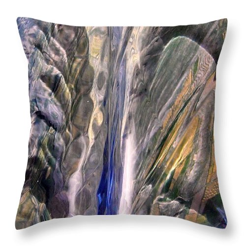 Abstract Throw Pillow featuring the photograph Abstract 430 by Stephanie Moore