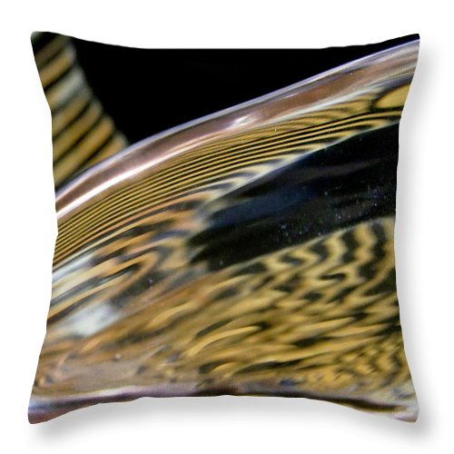 Abstract Throw Pillow featuring the photograph Abstract 432 by Stephanie Moore