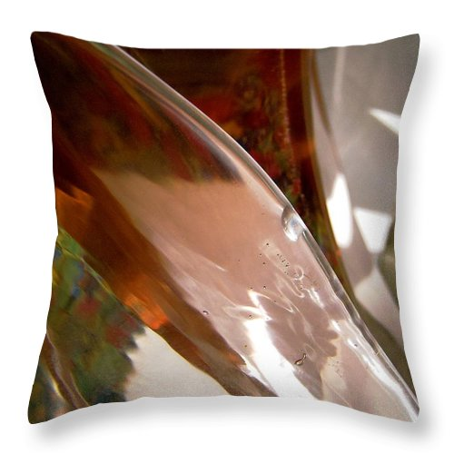 Abstract Throw Pillow featuring the photograph Abstract 459 by Stephanie Moore
