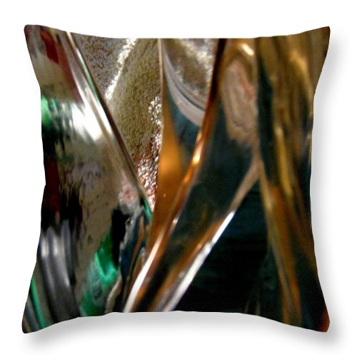 Abstract Throw Pillow featuring the photograph Abstract 491 by Stephanie Moore