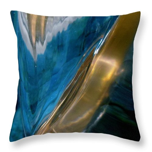 Abstract Throw Pillow featuring the photograph Abstract 495 by Stephanie Moore