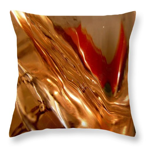 Abstract Shapes Throw Pillow featuring the photograph Abstract 505 by Stephanie Moore