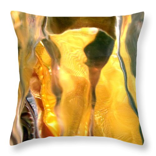 Abstract Shapes Throw Pillow featuring the photograph Abstract 519 by Stephanie Moore
