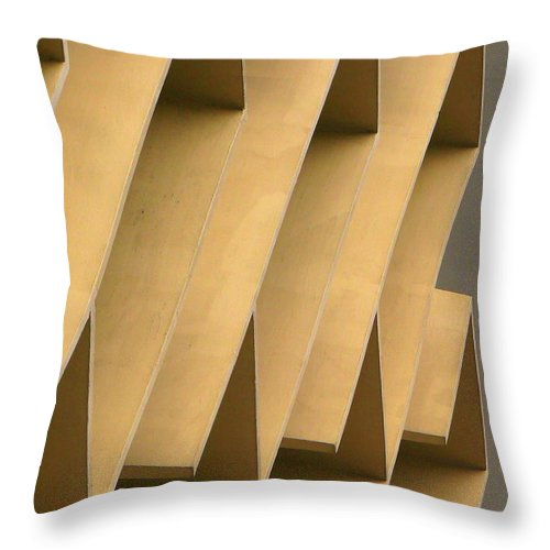 Abstract Throw Pillow featuring the photograph Abstract 7277 by Guntis Lauzums